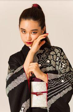 Model Face, Japan Girl, Yukata, Japanese Kimono, Kimono Fashion, Asian Style, Fashion Killa, Vintage Japanese, Gowns