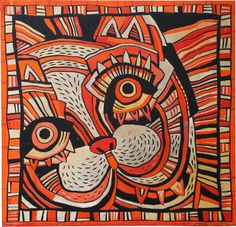 kocour Šnůrli... zrcátko s futrálkem Painting, Art, Painting Art, Paintings, Kunst, Paint, Draw, Art Education, Artworks