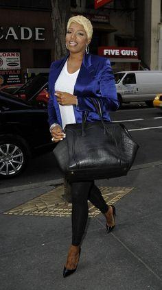 Nene Leakes. Love the Celine handbag