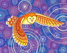 'Owl Pulsating Magic' by Elspeth McLean