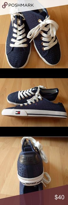 26545ab2 Tommy Hilfiger Women's Canvas Tennis Shoes size 10 New! This is a new pair  of