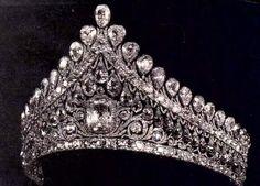 Russian tiara - love me some tiara, so sue me.
