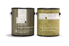 Yolo paint and wallpaper from Portland Oregon, USA. Environmentally responsible paint with a natural palette, and excellent packaging.