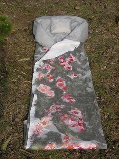 Shroud. Foto's van Engelenwaden, lijkwaden
