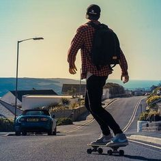 Just follow the feeling.⁠ ⁠ Credit to @freddiepooley & @sarabaxterphotography⁠ ⁠ #skate #skateboard #skating #downhillskate #🤙 #sunsetting #blackandwhite #blackandwhite #blackandwhitephotography #chilledits #cruising #longboard #seaside #sea #cornwall #newquay #newquayskate #checkeredshirt #boarding #sun #sunnydays #funday #happy #bestday⁠ #kernow #cornish #skaterboy #beachlife⁠ #surf #tarion Camera Backpack, Newquay, Cornwall, Black And White Photography, Skating, Sunny Days, Seaside, Skateboard, Happy
