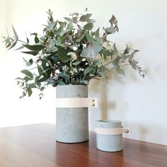 Hump day over, lets hope the rest of the weeks go's this quick!  Raw Concrete + Natural Leather Vase available online now. Ship Australia wide and International. Checkout our other Scandi Homewares for sale ➡ Tree Design Aus