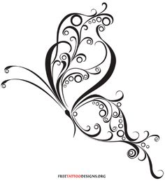 free butterfly designs