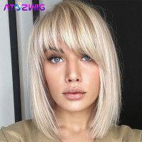 Medium Hair Cuts, Short Hair Cuts, Medium Hair Styles, Short Hair Styles, Bangs With Medium Hair, Mid Length Hair With Bangs, Medium Short Hair, Long Bangs, Heavy Bangs
