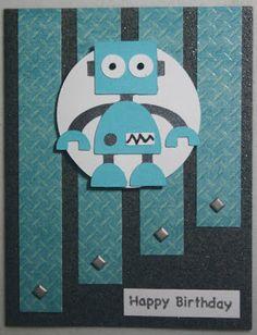 Birthday Robot (using Boys Will Be Boys) - Paula Bee