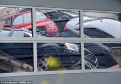 06/01/2015 - 20 cars fall through Milton Keynes Audi dealership first floor onto workshop | Daily Mail Online