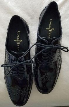 Cole Haan black patent leather wingtip oxfords size 5  #ColeHaan #Oxfords #FormalCheck out Cole Haan black patent leather wingtip oxfords size 5  #ColeHaan #Oxfords #Formal http://www.ebay.com/itm/-/292573257522?roken=cUgayN&soutkn=e37J02 via @eBay