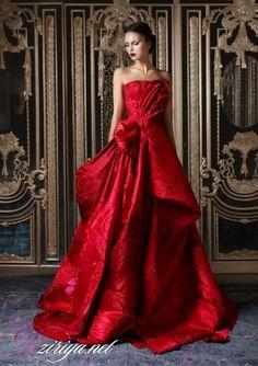 Rami Kadi Second Edition Rami Kadi Haute Couture glamour featured dresses Haute Couture Style, Couture Mode, Couture Fashion, Red Fashion, Look Fashion, High Fashion, Fashion Models, Fashion Colours, Fashion Styles