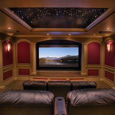 media room theater rooms design pictures remodel decor and ideas page 9 what i want my future house to have pinterest pictures design and wall - Media Room Design Ideas