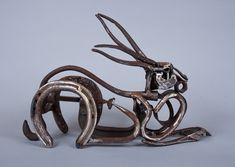 Hook Tailed Hare- the work of Harriet Mead