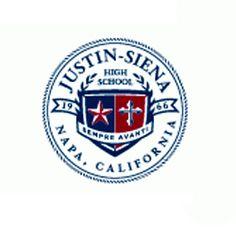Justin-Siena High School, Napa.  Lasallian school from the District of San Francisco.