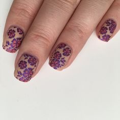 New #nails are up on my #blog featuring @OPICanada and @SallyHansenCA #polishes #NOTD #manimonday #manicuremonday #nailart #naildesign #flowernails #sallyhansenca #opicanada