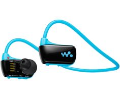 Pop of Blue! 4GB Walkman Sports MP3 Player