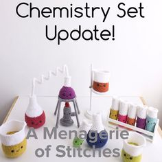 Good Morning!!! Even though its Monday lets make today AWESOME!  Just a tiny update on chemistry sets..Restock is happening this  FRIDAY MAY 13TH AT 4PM CST. Set your alarms mark your calendars heck! write it on every blank surface available!    #amenagerieofstitches #crochet #amigurumi #chemistry #testtubes #chemset #crochetchemistryset #joann #makersgonnamake #beakers #chemistryset #crochetbeakers #erlenmyer #erlenmeyerflask #crochetflask #crochetersofinstagram #crocheter #yarn #yarnaddict…