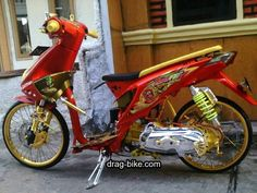 Satria Fu, Instagram Prints, Drag Bike, Motorcycle Engine, Street Racing, Drag Racing, Beats, Honda, Vehicles