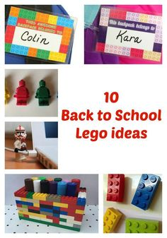 10 Back to School Lego ideas