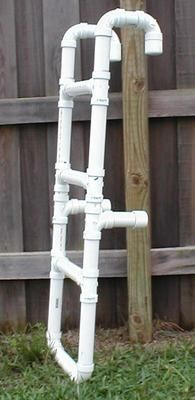 PVC ladder for the pool
