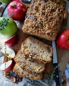 Apple Cheddar Walnut Bread   The Lemon Apron