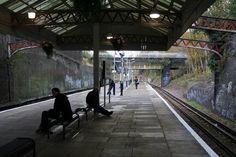 Watford High Street station: platform view looking south