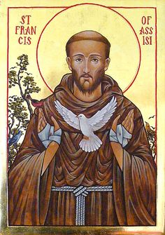 Icons - Saints - The Studio of John the Baptist : sacredart.co.nz ~ St. Francis of Assisi