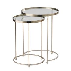 Occasional Furniture - Homewares - Cikawa Round Nested Tables - 1018101228