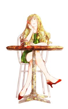 Hetalia: Mon dieu! Hungary is so beautiful. I wish I looked like her....