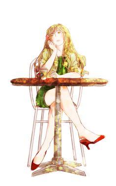 Hetalia: Mon dieu! Hungary is so beautiful. I wish I looked like her....