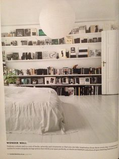 Love the idea of this style shelving, not sure whether it could work somewhere