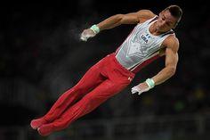 181 retweets 571 likes Reply   Retweet  181    Like 571   More  NBC Olympics @NBCOlympics  Aug 10 .@SamuelMikulak and @cbrooks_wpr are JACKED. #Rio2016