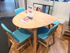 Domayne 'Zara' table and chairs (chairs extra) Table And Chairs, Dining Table, Eat In Kitchen, My House, Home Improvement, Zara, Meals, Furniture, Design