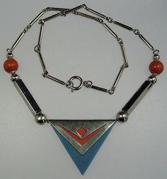 Jakob Bengel Art Deco Necklace