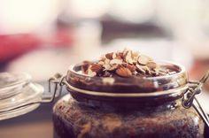 Peanut Butter & Choc Cake in a Jar.
