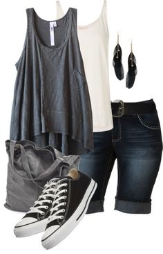 """""""Casual Summer"""" by colierollers on Polyvore"""
