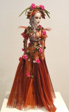 https://flic.kr/p/e3SiCQ | Sybarite | Paris Doll Festival. Sunday salesroom OOAK from Superfrock.