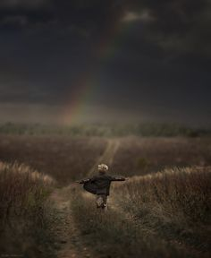following the rainbow by Elena Shumilova