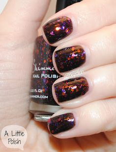 KB Shimmer really knows glitter & color combos.. One of the new fall colors, You Go Ghoul!