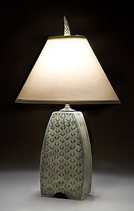 Small Arts and Crafts Lamp: Jim and Shirl Parmentier: Ceramic Table Lamp | Artful Home