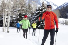 Cross Country Skiing at Northstar