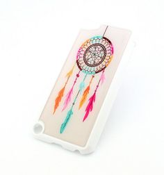 WHITE Snap On Case for APPLE IPOD TOUCH 5 / 5th Gen Generation Plastic Cover - RAINBOW DREAMCATCHER feather dream catcher mayan aztec tribal navajo Milkyway Body Jewelry,http://www.amazon.com/dp/B00CIEZMFE/ref=cm_sw_r_pi_dp_Wm-Nsb1FNYGBQTHS