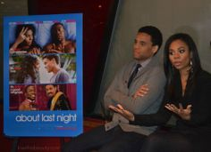 About Last Night Blogger Media Dinner featuring Michael Ealy + Regina Hall   kiwithebeauty.com #aboutlastnight