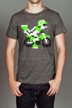 8 Bit Apparel Moto Ex T-Shirt. Favorite game. ever.