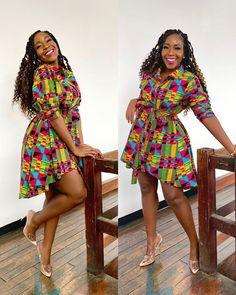 Amazing Ankara short gown designs for Beautiful queens Short African Dresses, Ankara Short Gown Styles, Short Gowns, Latest African Fashion Dresses, African Print Dresses, African Print Fashion, Africa Fashion, Ankara Gowns, Ankara Fashion