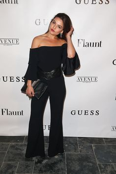 Danielle Campbell at the Flaunt and Guess Celebration of the Alternative Facts Issue, LA (11 April, 2017)