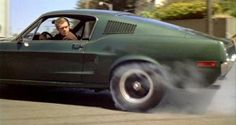 Steve McQueen made the Ford Mustang a movie star, but could it really hunt down a Dodge Charger? Nick Rufford and Ben Barry hit the track to find out Mustang Bullitt, Ford Mustang Fastback, 1968 Mustang, Gt Mustang, Shelby Gt500, Gas Monkey, Dodge Charger, Film Cars, Steeve Mcqueen