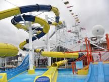 Carnival Dream Waterworks - Carnival Dream (c) Linda Garrison
