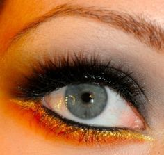 Katniss and District 12 inspired makeup